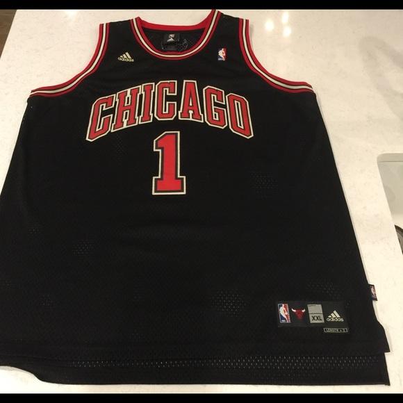 b7b4c55101d adidas Shirts | Derrick Rose Chicago Bulls Jersey | Poshmark